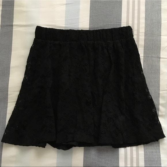 Forever 21 Dresses & Skirts - Forever 21 Black Lace Skirt